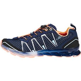 CMP Campagnolo Atlas Shoes Kids black blue-cristal-peach fluo